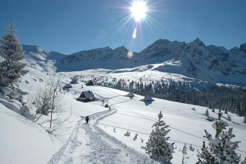 Skiing in Tatras